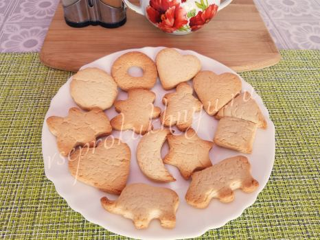 Домашнее печенье без яиц рецепт