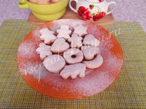 Рецепт домашнего печенья без яиц