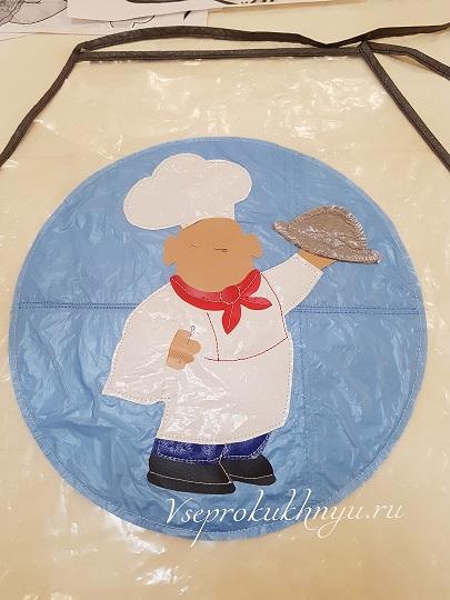 Эмблема повара на фартук