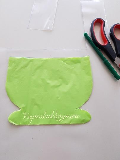 Изготовление кармана для фартука