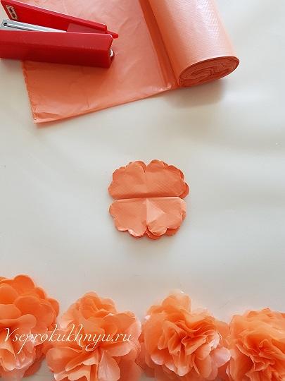 Заготовки цветов для фартука фото