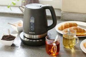 Как убрать накипь в эмалированном чайнике