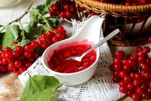 Калина на зиму — 9 лучших рецептов заготовки калины красной