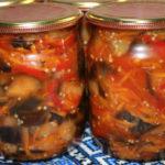 Баклажаны на зиму — лучшие рецепты
