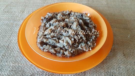 Грибная икра из опят - самый вкусный и простой рецепт пошагово