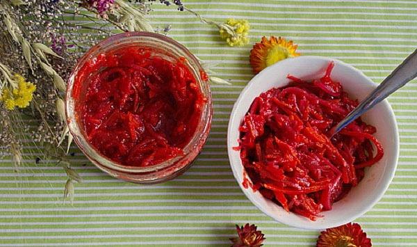 Заправка для борща на зиму: чесночно-томатная