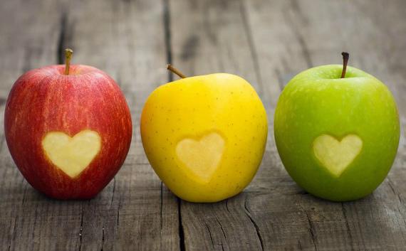 Какие яблоки полезнее: красные, зеленые или желтые