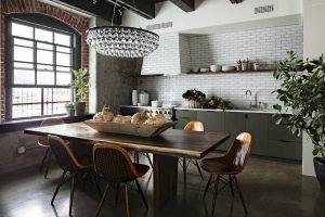 Стиль лофт в интерьере кухни: фото, дизайн, современные идеи
