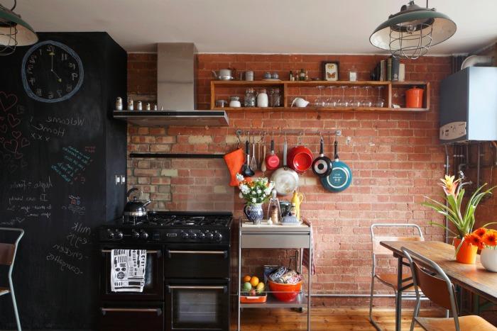 Кухни в стиле лофт -фото