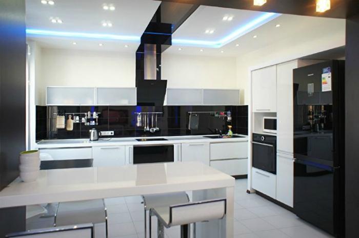 Дизайн кухни - освещение