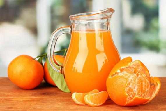 Полезные напитки из мандаринов