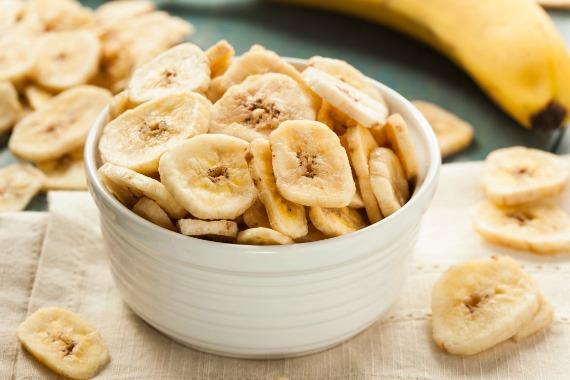 Сушеные бананы - полезные свойства