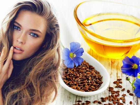 Льняное масла в косметологии