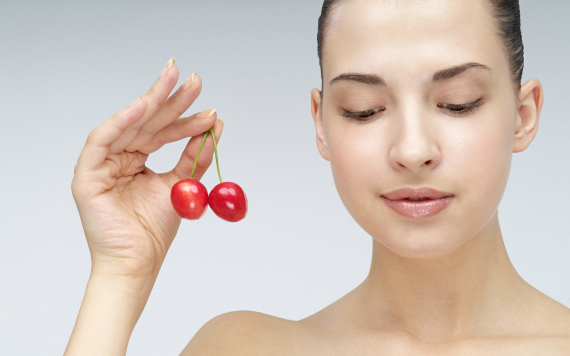 Применение черешни в косметологии