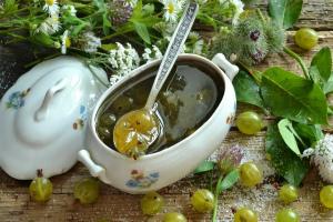 Варенье из крыжовника - 6 рецептов классической заготовки на зиму