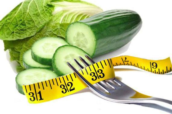 Огурцы при похудении: рецепты