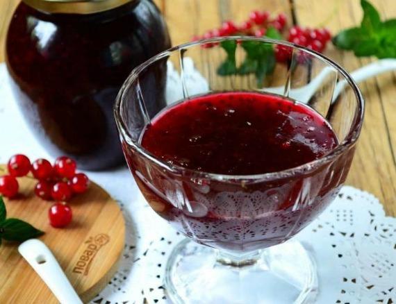 Варенье из вишни и смородины на зиму