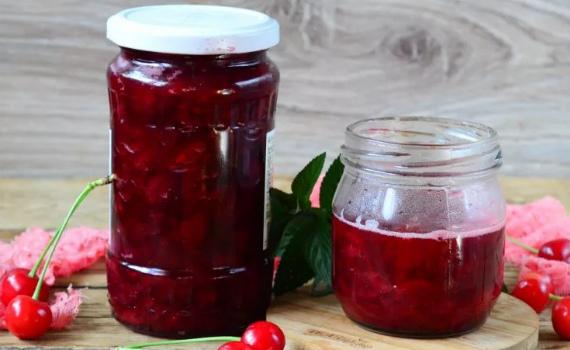 Варенье из вишни в мультиварке - простой рецепт