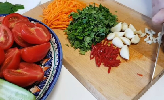 Подготовка овощей и советы по приготовлению