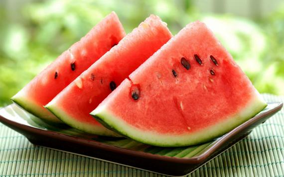 Пищевая ценность и калорийность арбуза