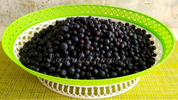 Подготовка ягод черники и советы по варке