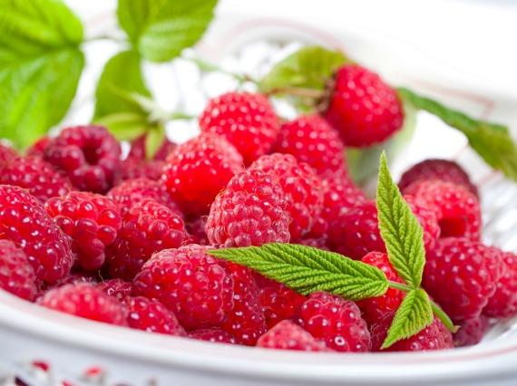 Пищевая ценность и калорийность малины