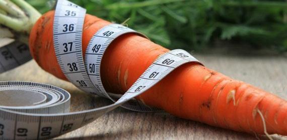 Морковь при похудении