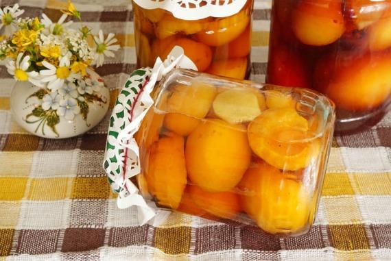 Рецепт абрикосов в сиропе с лимонной кислотой