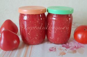 Хреновина с помидорами и чесноком: 5 рецептов на зиму секреты чтобы не закисала
