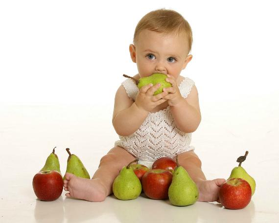 Груша для детского организма