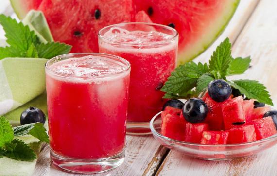 Полезные напитки из арбуза