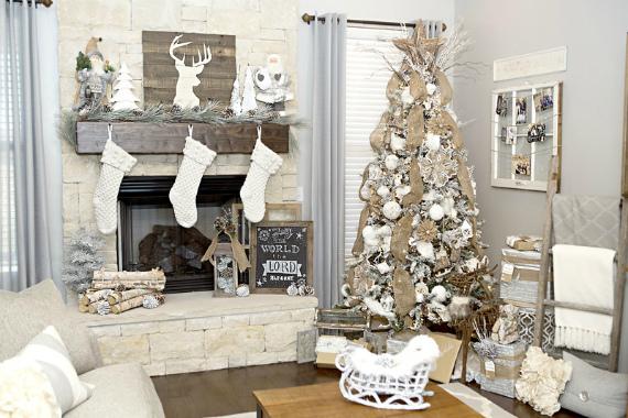 Как в преддверии Нового года украсить дом или квартиру