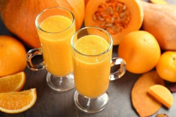 Сок морковно-тыквенный с апельсином