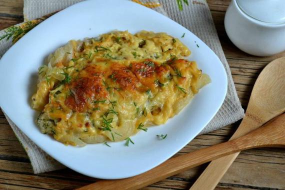 Пангасиус в духовке под сыром: простой и вкусный рецепт