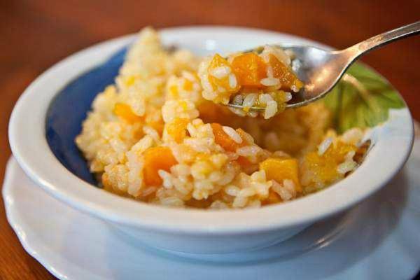 Каша рисовая с тыквой в мультиварке