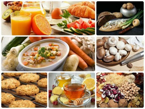 Календарь питания по дням