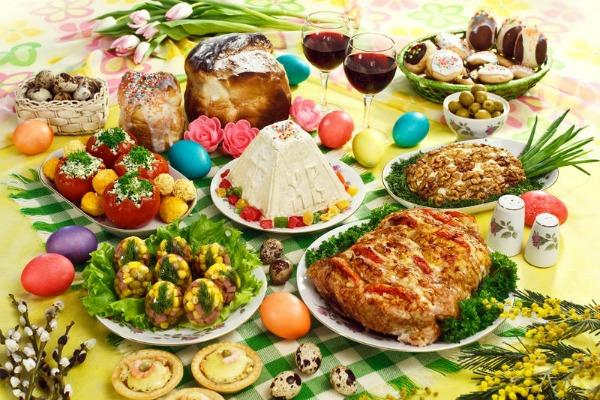 Как украсить пасхальные блюда