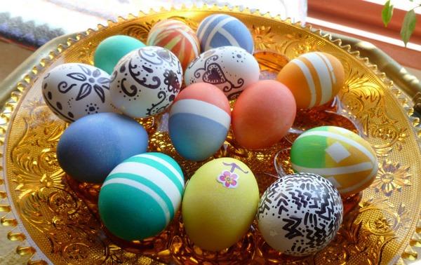 Когда красят яйца на Пасху