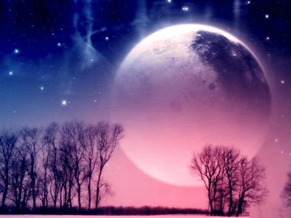 Фазы луны в феврале 2021